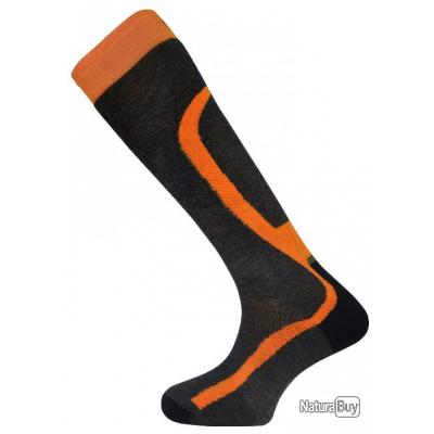 CHAUSSETTES MONNET PRO HUNTING ORANGE - TAILLE 43/44