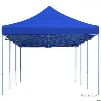 tente de r ception pliable 3x9 m bleu auvents carports tonnelles 5691295