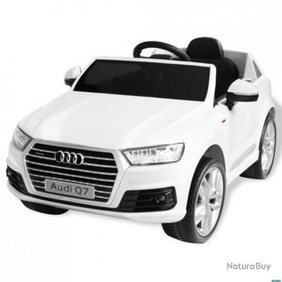 Audi Enfants 6 Q7 V Voiture Blanc Pour Électrique SUzGqpMV