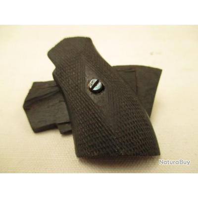 une paire de plaquette pour petit révolver 5 mm ou petit 7 mm a broche  ou autre - H 5 cm sur 2,5 cm