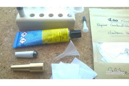 cartouches papier faciles pour revolvers calibre 44 EZ Paper Cartridge