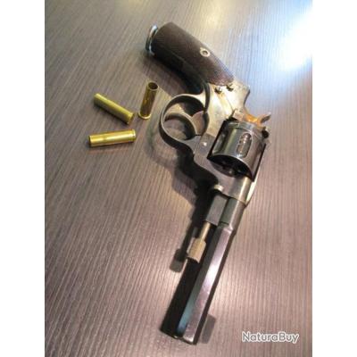 Revolver réglementaire Suèdois Husqvarna Nagant M/1887, catégorie D!!! vente libre!!!