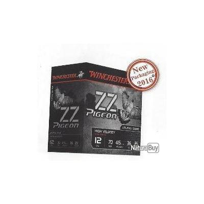 Munitions Winchester ZZ PIGEON 36gr Cal.12/70 N°5 par 125