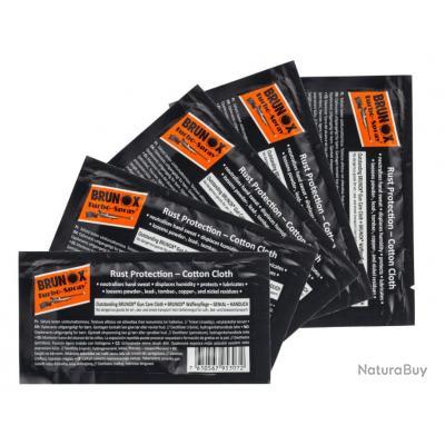Lingettes d'huile Brunox Turbo-Spray par 5 pièces