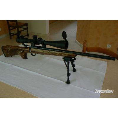 Vends carabine CZ 455 THUMBHOLE 22 LR avec lunette