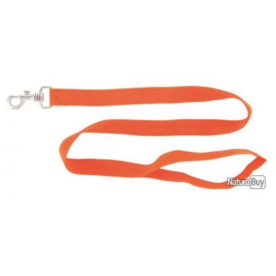LAISSE NYLON DOUBLEE - 2m- ORANGE