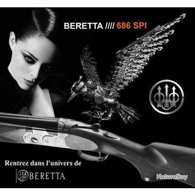 NEW BERETTA //// 686 SPI SILVER PIGEON I Calibre 12/76 Canon 76cm