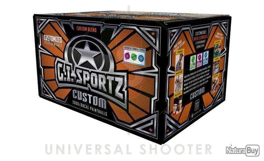 Annonce billes paintball : Billes Paintball été carton GI Custom