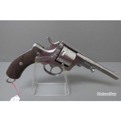 rare révolver BREVET NAGANT modèle 1878/86 simple action de CAVALERIE calibre 9.4 belge