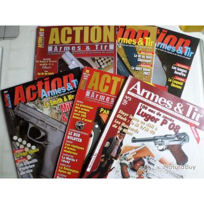 Revues Action Armes et Tir