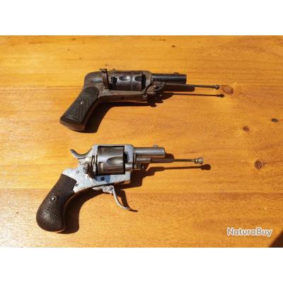 Je possède 2 revolvers 19 eme siècle. État de marche