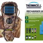 PACK PROMO ANTIMOUSTIQUE THERMACELL + HOLSTER CAMO + RECHARGE 12H00