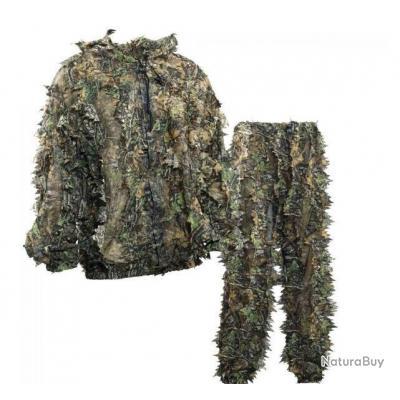 tenue de camouflage 3d dominante verte taille xxl xxxl. Black Bedroom Furniture Sets. Home Design Ideas