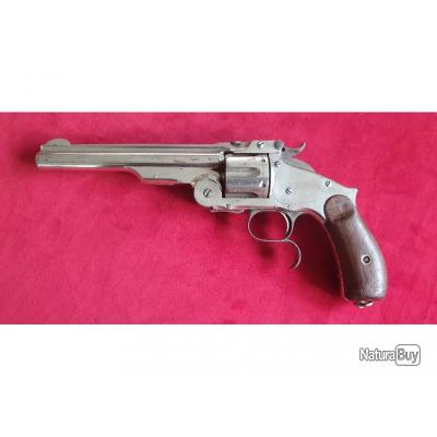 Revolver Smith & Wesson N°3, 3ème modèle (New Model Russian) .44 Russian