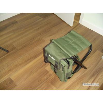 sièges de battues avec sac a dos incorporé