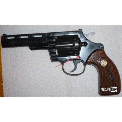 Revolver d'alarme Mauser L100 (L 100) cal. 9mm à blanc, Made in West Germany, TBE (N° 2)