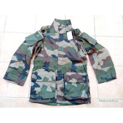 haut treillis felin 81-88XC neuve camo ce / femme-enfant / tissus ripstop / armée legion