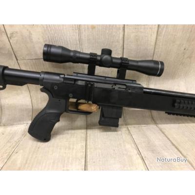 Carabine calibre 22lr ISSC SPA + lunette VEOPTIK 4x32