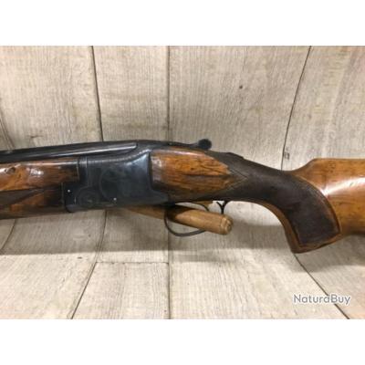 Fusil superposé calibre 12 GEVELOT bascule bronzé