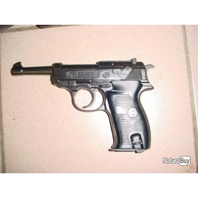 walther P38 alarme avec marquages du waffenmat