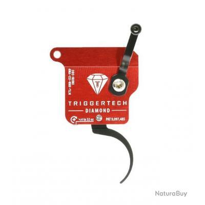 Détente Triggertech Diamond Pro - Rem 700 Gaucher - Courbée - Noire