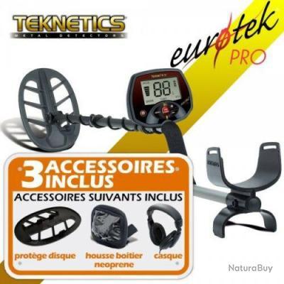 Detecteur de Métaux Teknetics Eurotek Pro disque 27 DD