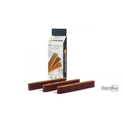 Kit de 3 courroies medium pour Aiguiseur Work Sharp Culinary