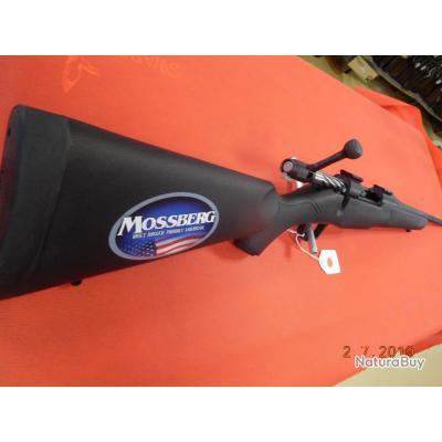 Carabine Mossberg Patriot Synthétique neuve canon flûté 56 cm, calibre 30.06,filetage,