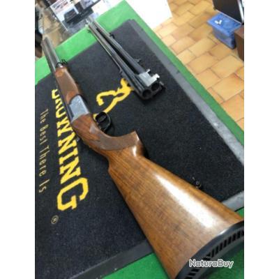 Enchère 1 euros fusil fair LX600 combo calibre 12
