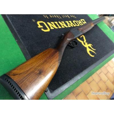 Enchère 1 euro fusil Browning B25 calibre 12