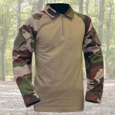 Chemise de combat type ubas coton XL Camouflage T7750164