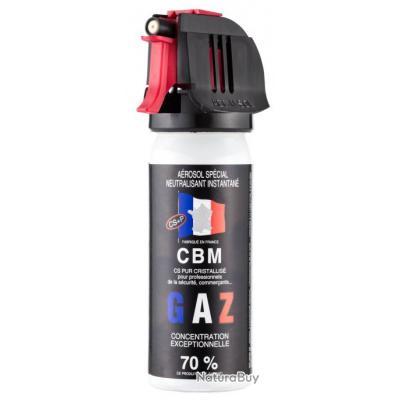 Aérosol gaz CS cristalisé - 50 ml - Homeland