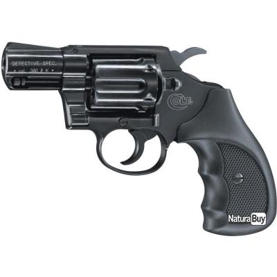 Revolver 9 mm à blanc Umarex Colt Détective Spécial bronzé Revolver à blanc Umarex Colt Détective Sp