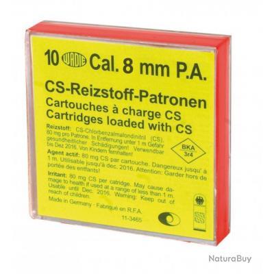 Boîte de 10 cartouches 8 mm PAK à gaz-MD221