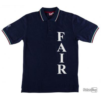Polo Fair manches courtes Bleu POLO FAIR T.S VPF01