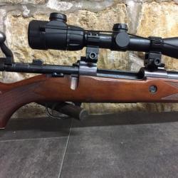 5885db9fdb Carabine à verrou calibre 243 win MIDLAND GUN & Co + lunette center point  6-20x56