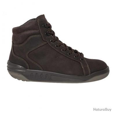 Chaussures de sécurité basses ou hautes en cuir pleine fleur S3 Parade Protection JIKA JUNA Marron J