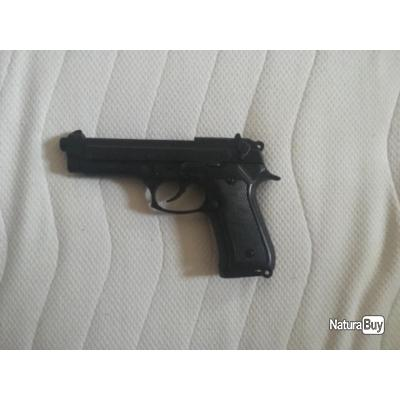 Arme à blanc