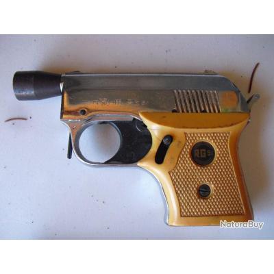 ancien pistolet d'alarme marque Rohm