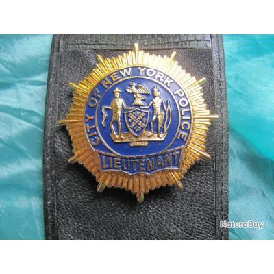 PLAQUE NEW - YORK POLICE