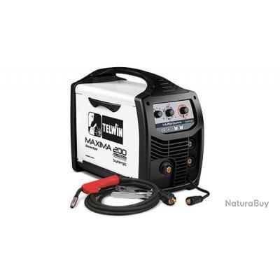 Telwin - Poste à souder inverter à fil MIG-MAG 230 V 20-170 A - MAXIMA 200 SYNERGIC 230V
