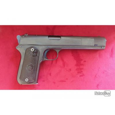 Pistolet Colt 1900, cal 38 ACP,  état neuf, Catégorie D