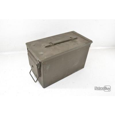 Caisse à munitions US M2A1 OTAN étanche. Idéal stockage rangement déco militaire tir tar boite (A)