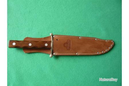 couleur marron Hubertus Couteau Fourreau pour couteau de chasse de solingen allemande qualite
