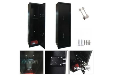Coffre Fort Armoire A Fusils 6 Armes Securite Chasse Tir