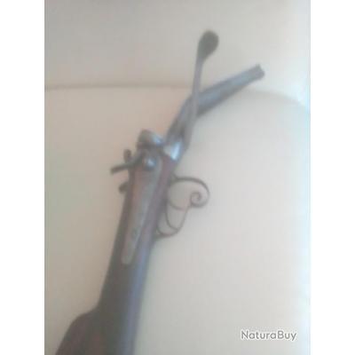 fusil a chiens collection calibre 16 systeme lefaucheux st etienne