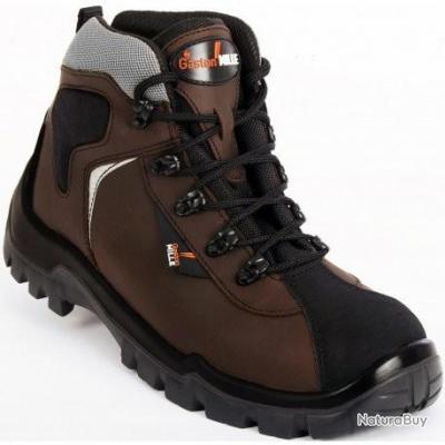 chaussures montante securité gaston mille pointure 37