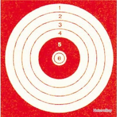 1000 cibles cartonnées 10 x 10 cm-A52230