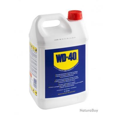 WD40 en bidon de 5 litres et un pulvérisateur vide Bidon + Pulvé-WD115