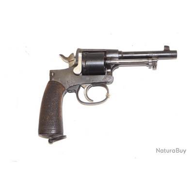 Revolver Rast & Gasser 1898 finition bronzage noir calibre 8 mm Gasser
